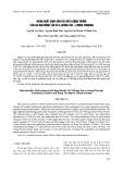 Năng suất sinh sản và chất lượng trứng của gà mái Đông Tảo và F1 (Đông Tảo × Lương Phượng)