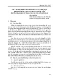 Thực nghiệm phương pháp rèn luyện thể lực theo mô hình Tabata cho nam sinh viên trường Đại học sư phạm thành phố Hồ Chí Minh