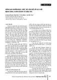 Viêm gan nhiễm độc: Một số vấn đề về cơ chế bệnh sinh, chẩn đoán và điều trị