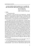 Vận dụng phương pháp dạy học dự án vào thiết kế mẫu lời nói chỉ vị trí (sách giáo khoa tiếng Nga 10)