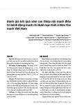 Đánh giá kết quả sớm can thiệp nội mạch điều trị bệnh động mạch chi dưới mạn tính ở Viện Tim mạch Việt Nam