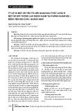 Tỷ lệ và một số yếu tố liên quan đau thắt lưng ở một số đối tượng lao động khám tại phòng Khám nội – bệnh viện Bãi Cháy, Quảng Ninh