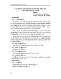 Ứng dụng một số bài tập luyện phát âm cho trẻ down 1-3 tuổi