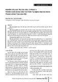 nghiên cứu giá trị của CEA, CYFRA21-1 trong chẩn đoán ung thư phổi tại Bệnh viện Đa khoa Trung ương Thái Nguyên