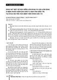 Khảo sát một số đặc điểm lâm sàng và cận lâm sàng ở bệnh nhân viêm gan virút C mạn tính điều trị tại khoa nội tiêu hóa Bệnh viện Nhân dân 115