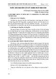 Bước đầu nghiên cứu về thành ngữ Hán-Hàn