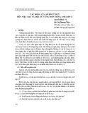 Tác động của sơ đồ tư duy đến việc dạy và học từ vựng môn tiếng Anh lớp 11