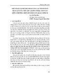 Một số bài tập bổ trợ nhằm nâng cao thành tích tháo lắp súng tiểu liên AK đối với học sinh nam lớp 11 trường THPT Bùi Thị Xuân quận 1 TPHCM