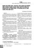 Đánh giá kiến thức, thái độ, thực hành dự phòng biến chứng ở bệnh nhân tăng huyết áp điều trị ngoại trú tại Trung tâm Y tế huyện Ân Thi, tỉnh Hưng Yên năm 2017