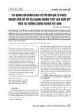 Tác động của chính sách cổ tức đến giá cổ phiếu - nghiên cứu đối với các doanh nghiệp thủy sản niêm yết trên thị trường chứng khoán Việt Nam