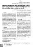 Hiệu quả mô hình can thiệp thay đổi hành vi và sử dụng dịch vụ phòng lây nhiễm HIV/STI ở nhóm nam bán dâm đồng giới 16-29 tuổi tại Hà Nội