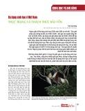 Đa dạng sinh học ở Việt Nam: Thực trạng và thách thức bảo tồn