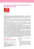Bản tuyên bố về điều trị nội tiết năm 2017 của Hội Mãn kinh Bắc Mỹ
