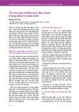 Tối ưu hóa Isoflavone đậu nành trong điều trị mãn kinh