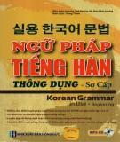 Tìm hiểu ngữ pháp tiếng Hàn thông dụng trình độ sơ cấp: Phần 2