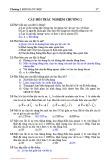 Câu hỏi trắc nghiệm Vật lý đại cương - Chương 2: Động lực học