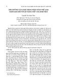 Ảnh hưởng của hoạt động phân tích thể loại ngôn bản đối với kỹ năng viết của sinh viên