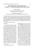 """Đặc điểm nghĩa của nhóm chữ Hán có chứa """"竹"""" (Trúc) trong hệ thống văn tự Hán"""