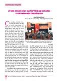 Áp dụng ISO hành chính – Giải pháp nâng cao chất lượng cải cách hành chính tỉnh Quảng Bình