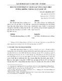 Bàn về cơ sở pháp lý thiết lập vùng nhận diện phòng không trong Luật quốc tế