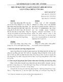 Một số hạn chế và kiến nghị sửa đổi, bổ sung Luật Công chứng năm 2014
