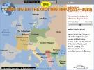 Bài giảng Lịch sử lớp 11- Bài 6: Chiến tranh thế giới thứ nhất (1914-1918)