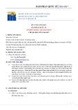 Đề cương chi tiết môn học Đàm phán quốc tế (International Negotiations)