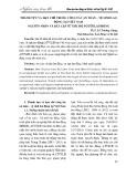 Thành tựu và hạn chế trong công tác an toàn – vệ sinh lao động tại Việt Nam nguyên nhân và bất cập từ góc độ người lao động