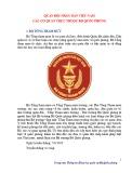 Quân đội nhân dân Việt Nam - Các cơ quan trực thuộc Bộ Quốc phòng