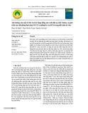 Ảnh hưởng của một số đèn led do rạng đông sản xuất đến sự sinh trưởng và phát triển của chồi giống bạch đàn PNCT3 và giống keo lai BV10 trong điều kiện In Vitro