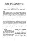 Cấu trúc thuế và tự do hóa thương mại: Nghiên cứu thực nghiệm tại các nước ASEAN