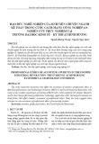Đạo đức nghề nghiệp của sinh viên chuyên ngành kế toán trong cuộc cách mạng công nghiệp 4.0: Nghiên cứu thực nghiệm tại trường Đại học Kinh tế - Kỹ thuật Bình Dương