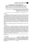 Phân bố ứng suất dư và biến dạng khi hàn giáp mối hai tấm thép không gỉ AISI 304