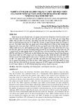 Nghiên cứu đánh giá hiện trạng và mức độ nhận thức của người nuôi tại vùng nuôi tôm hùm lồng bè thuộc Vịnh Xuân Đài, tỉnh Phú Yên