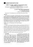 Nghiên cứu thực nghiệm xác định phương pháp sấy rau má (Centella asiatica L.)