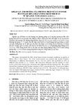 Khảo sát ảnh hưởng của phương pháp xử lý enzyme pectinase đến chất lượng dịch trích ly từ quả dâu tằm (Morus alba L.)