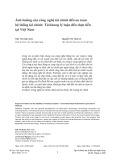 Ảnh hưởng của công nghệ tài chính đến an toàn hệ thống tài chính - Từ khung lý luận đến thực tiễn tại Việt Nam