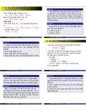 Bài giảng Xác suất thống kê A: Chương 1 - Hoàng Đức Thắng (tt)
