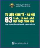 Các thành phố trực thuộc trung ương của Việt Nam và các tư liệu kinh tế, xã hội: Phần 3