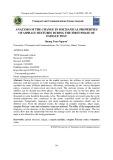 Phân tích sự thay đổi các đặc tính cơ lý của bê tông nhựa trong giai đoạn đầu của thí nghiệm mỏi
