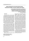 Đồng thuận quốc gia về liệu pháp khí dung trong điều trị bệnh lý hô hấp thường gặp ở trẻ em