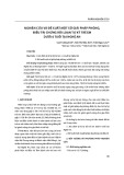 Nghiên cứu và đề xuất một số giải pháp phòng, điều trị chứng rối loạn tự kỷ trẻ em dưới 6 tuổi tại Nghệ An