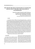 Phát hiện đột biến gene Dystrophin bằng các phương pháp sinh học phân tử trên bệnh nhân loạn dưỡng cơ Duchenne/Becker