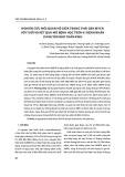 Nghiên cứu mối quan hệ giữa trạng thái gen MYCN với tuổi và kết quả mô bệnh học trên 41 bệnh nhân u nguyên bào thần kinh