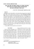 Kết quả điều trị bệnh trứng cá thông thường mức độ vừa và nặng bằng Isotretinoin kết hợp bôi kem lô hội ALO4