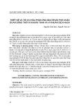 Thiết kế và tối ưu hóa phản ứng multiplex PCR chẩn đoán đồng thời vi khuẩn than và vi khuẩn dịch hạch