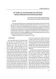 Kỹ thuật lai huỳnh quang tại chỗ (FISH) trong chẩn đoán hội chứng Digeorge