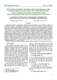 Một số kết quả phòng trừ bệnh thán thư hại sâm ngọc linh (Panax vietnamensis Ha and Grushv.) tại Tu Mơ Rông-Kon Tum
