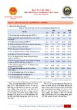 Bản tin cập nhật thị trường lao động Việt Nam - Số 25, quý 1 năm 2020