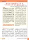Tình hình tử vong phụ nữ từ 15-49 và tử vong mẹ tỉnh Điện Biên 2011-2013